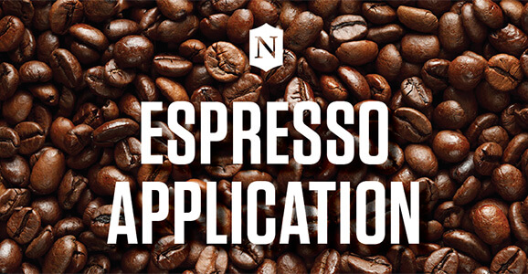 Nichols College's Espresso Application